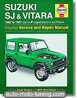 Revue technique Suzuki Vitara et SJ