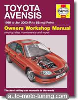 Revue technique Toyota Avensis (1983-2003)