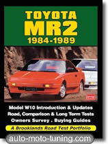 Documentation technique automobile Toyota MR2 (1984-1989)