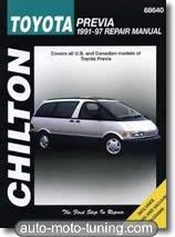 Revue technique monospace Toyota Previa (1991-1997)