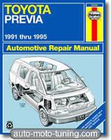 Revue technique monospace Toyota Previa Toyota Previa (1991-1995)