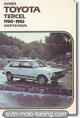 Revue technique Toyota Tercel (1980-1982)