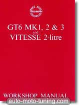 Revue technique Triumph GT6 Mk1, 2 et 3 (1967-1973)