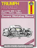 Revue technique Triumph Herald (1959-1971)