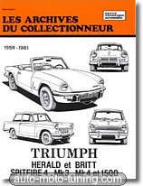 Revue technique Triumph Herald (1959-1981)