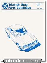Triumph Stag - catalogue des pièces détachées