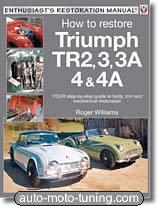 Guide de restauration Triumph TR2, TR3, TR4