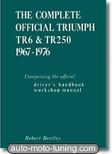 Revue technique Triumph TR6 et TR250 (1967-1976)