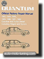 Revue technique Volkswagen Quantum (1982-1988)
