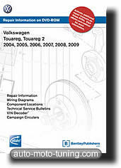 Revue technique Touareg & Touareg 2 (2004-2009)