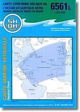 """Océan Atlantique Nord France Antilles """"Route du Rhum"""""""