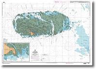 Carte des Îles Chausey