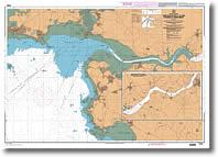 Carte de l'embouchure de la Vilaine