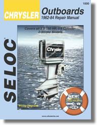 Hors-bord Chrysler 3.5 à 150 ch, 2 temps (1962 à 1984)