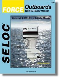 Hors-bord Force 3 à 150 ch (1984 à 1999)