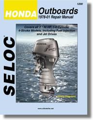 Hors-bord Honda 2 à 130 ch (1978 à 1999)