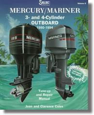 Hors-bord Mercury / Mariner 40 à 125 ch