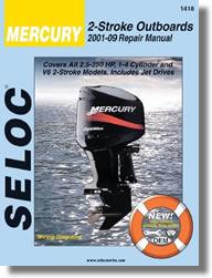 Hors-bord Mercury 2.5 à 250 ch