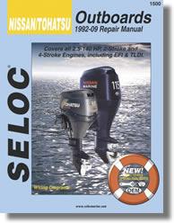Manuel de réparation Hors-bord Nissan