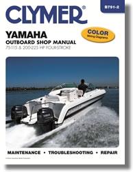 Manuel de réparation Hors-bord Yamaha (2000-2003)