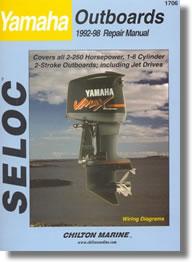 Manuel de réparation Hors-bord Yamaha (1992-1998)