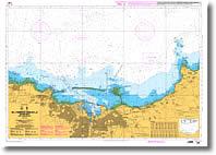 Carte de la pointe Nacqueville au Cap Levi