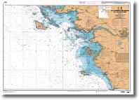 Carte de Quiberon aux Sables d'Olonne