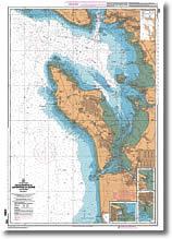Carte de la Rochelle - Pointe de la Coubre