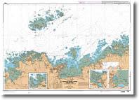 Carte de Perros-Guirec - Les 7 îles
