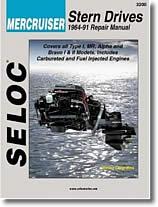 Stern drive Mercruiser (1964 à 1991)
