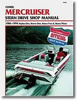 Stern drive Mercruiser (1986 à 1994)