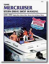 Stern drive Mercruiser (1995 à 1997)
