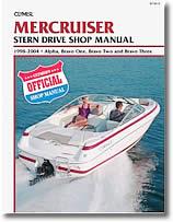 Stern drive Mercruiser (1998 à 2004)