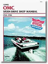 Manuel de réparation Stern drive OMC