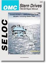 Stern drive OMC (1964 à 1986)