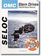 Manuel de réparation Stern drive OMC (1986 à 1998)