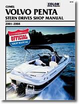 Stern drive Volvo Penta (2001 à 2004)