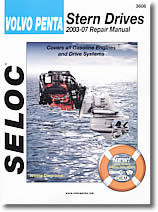 Manuel de réparation Stern drive Volvo Penta (2003 à 2007)