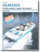 Manuel de réparation Stern drive Yamaha